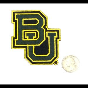 BAYLOR university patch iron on bears DIY